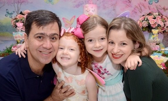 Família Lecco Bertolini e a rotina durante o isolamento